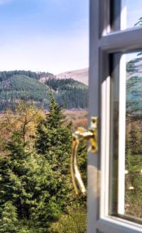 Window view towards Bassenthwaite Lake