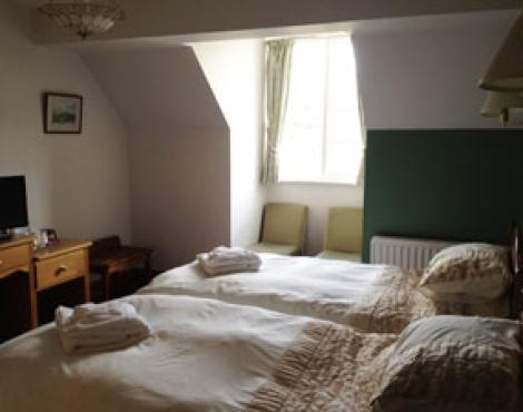 Twin Room at Ravenstone Manor