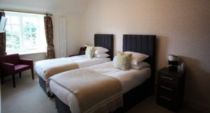 Ravenstone Manor Hotel twin room